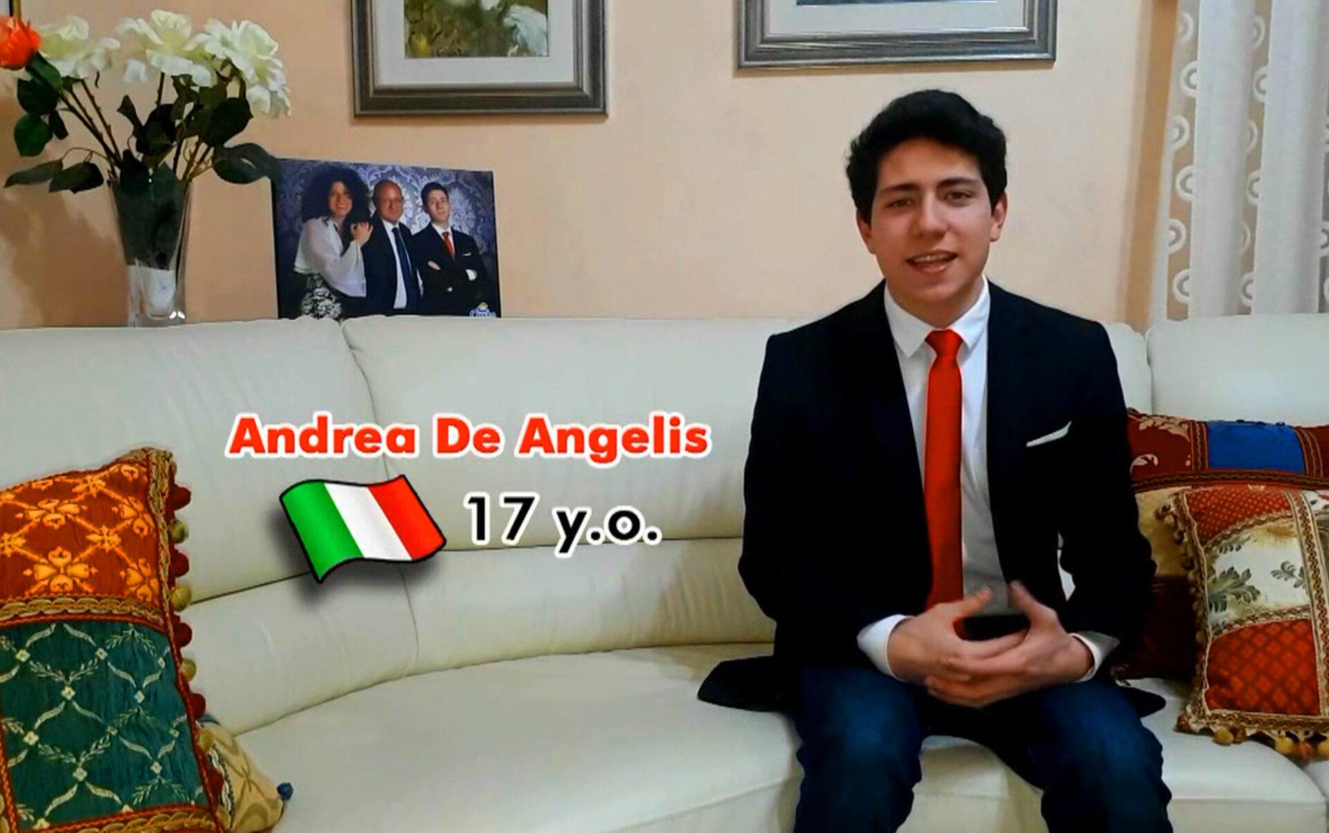 Andrea De Angelis Terni Progetto Erasmus Plus